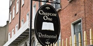 chapter one restaurant close to clayton hotel